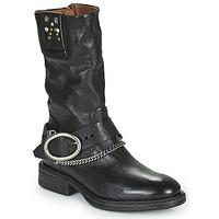 Chaussures Femme Boots Airstep / A.S.98 FLOWER BIKE Noir