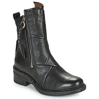 Chaussures Femme Boots Airstep / A.S.98 MIRACLE ZIP Noir