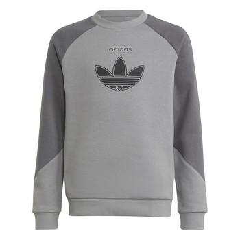 Vêtements Enfant Sweats adidas Originals DREZZ Gris