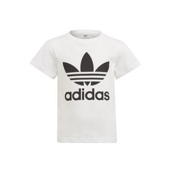 Vêtements Enfant T-shirts manches courtes adidas Originals FLORE Blanc