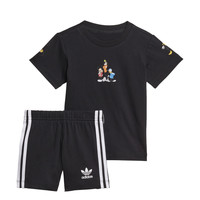 Vêtements Garçon Ensembles enfant adidas Originals COTES Noir