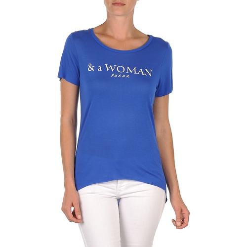 Vêtements Femme T-shirts manches courtes School Rag TEMMY WOMAN Bleu