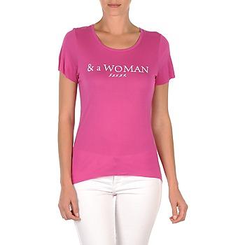 Vêtements Femme T-shirts manches courtes School Rag TEMMY WOMAN Violet