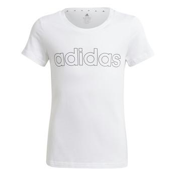 Vêtements Fille T-shirts manches courtes adidas Performance HOLLIA Blanc
