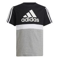 Vêtements Garçon T-shirts manches courtes adidas Performance MOULITA Gris / Noir