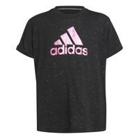 Vêtements Fille T-shirts manches courtes adidas Performance MONICA Noir