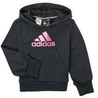 Vêtements Fille Sweats adidas Performance KINOM Noir