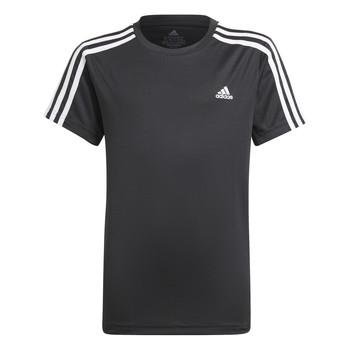 Vêtements Garçon T-shirts manches courtes adidas Performance MARIONA Noir
