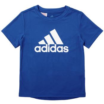 Vêtements Garçon T-shirts manches courtes adidas Performance CLAUDIA Bleu