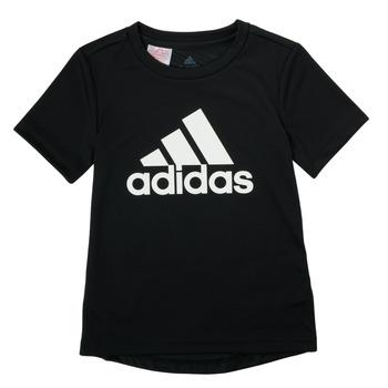 Vêtements Garçon T-shirts manches courtes adidas Performance NADGED Noir