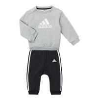 Vêtements Garçon Ensembles enfant adidas Performance SONIA Gris / Noir