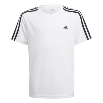 Vêtements Garçon T-shirts manches courtes adidas Performance AYMERICA Blanc