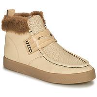 Chaussures Femme Baskets montantes Mam'Zelle AMOR Blanc