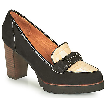 Chaussures Femme Escarpins Mam'Zelle URBANO Noir / Blanc