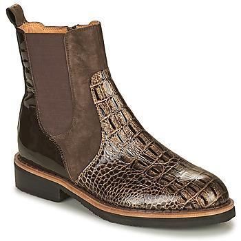 Chaussures Femme Boots Mam'Zelle JUDE Marron