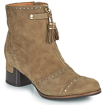 Chaussures Femme Bottines Mam'Zelle MALO Taupe