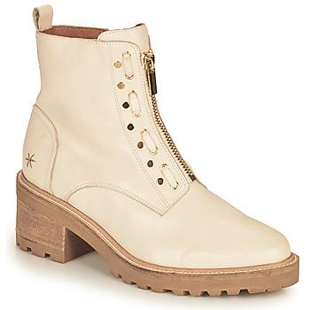 Chaussures Femme Boots Mam'Zelle QUITO Blanc