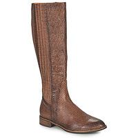 Chaussures Femme Bottes ville Mam'Zelle SAPA Marron