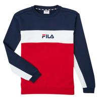 Vêtements Garçon Sweats Fila KAMILA Rouge / Marine