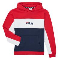 Vêtements Fille Sweats Fila POLLY Rouge / Marine