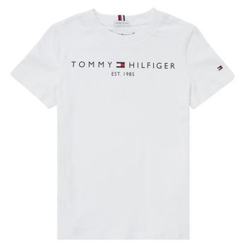 Vêtements Garçon T-shirts manches courtes Tommy Hilfiger SELINERA Blanc
