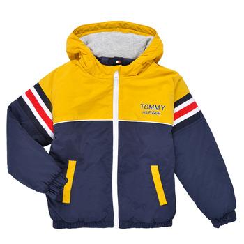 Vêtements Garçon Blousons Tommy Hilfiger ATHENAIS Multicolore