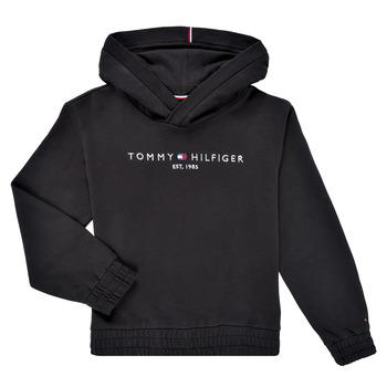 Vêtements Fille Sweats Tommy Hilfiger DEMINRA Noir