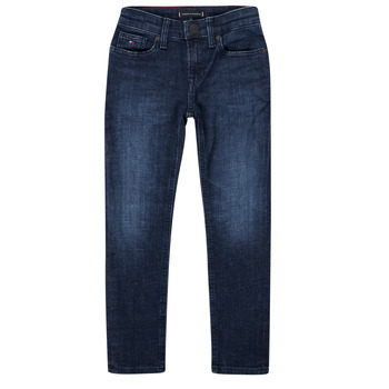 Vêtements Garçon Jeans slim Tommy Hilfiger ARMAND Bleu