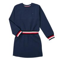 Vêtements Fille Robes courtes Tommy Hilfiger ARNO Marine