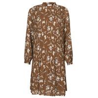 Vêtements Femme Robes courtes Esprit PER CHIFFON PRI Marron
