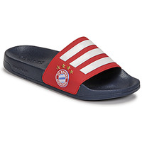 Chaussures Claquettes adidas Performance ADILETTE SHOWER Rouge / Marine