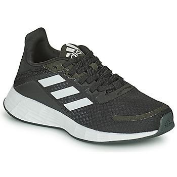 Chaussures Enfant Running / trail adidas Performance DURAMO SL K Noir / Blanc