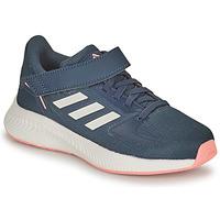 Chaussures Fille Running / trail adidas Performance RUNFALCON 2.0 C Marine / Rose