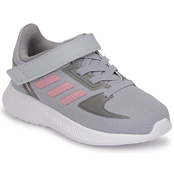 Chaussures Fille Running / trail adidas Performance RUNFALCON 2.0 I Gris / Rose