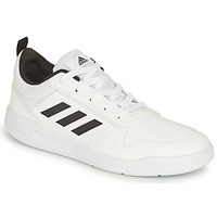 Chaussures Enfant Baskets basses adidas Performance TENSAUR K Blanc / Noir
