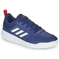 Chaussures Enfant Baskets basses adidas Performance TENSAUR K Marine / Blanc