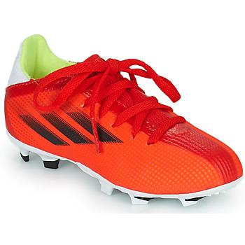 Chaussures Enfant Football adidas Performance X SPEEDFLOW.3 FG J rouge