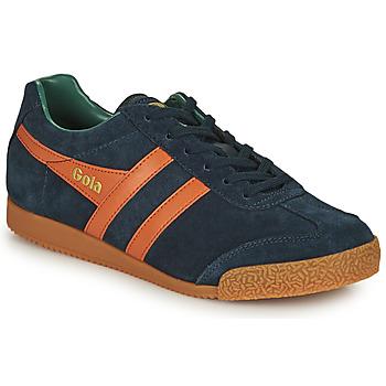 Chaussures Homme Baskets basses Gola HARRIER Marine / Orange