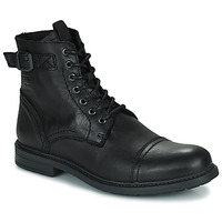 Chaussures Homme Boots Jack & Jones JFW SHELBY LEATHER Noir