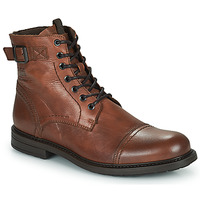 Chaussures Homme Boots Jack & Jones JFW SHELBY LEATHER Cognac