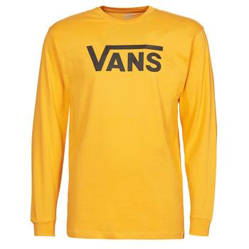 Vêtements Homme T-shirts manches longues Vans VANS CLASSIC LS Jaune / Noir