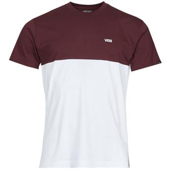 Vêtements Homme T-shirts manches courtes Vans COLORBLOCK TEE Blanc