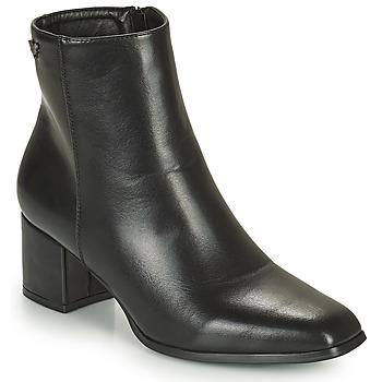 Chaussures Femme Bottines Les Petites Bombes CARINE Noir