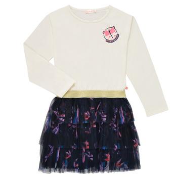 Vêtements Fille Robes courtes Billieblush POLINA Blanc