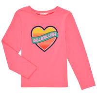Vêtements Fille T-shirts manches longues Billieblush DEKOU Rose
