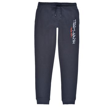 Vêtements Garçon Pantalons de survêtement Teddy Smith P-JOG 2 Marine
