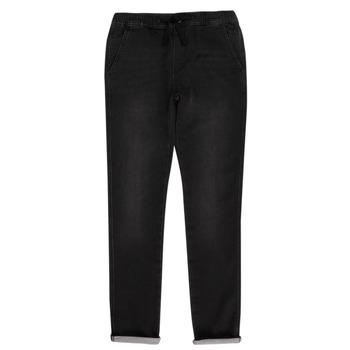 Vêtements Garçon Pantalons 5 poches Teddy Smith JOGGER SWEAT Noir
