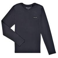 Vêtements Garçon T-shirts manches longues Teddy Smith T-NARK ML Marine