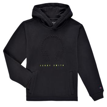 Vêtements Garçon Sweats Teddy Smith S-RUDY HOODY Noit