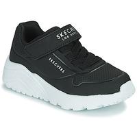 Chaussures Enfant Baskets basses Skechers UNO LITE Noir